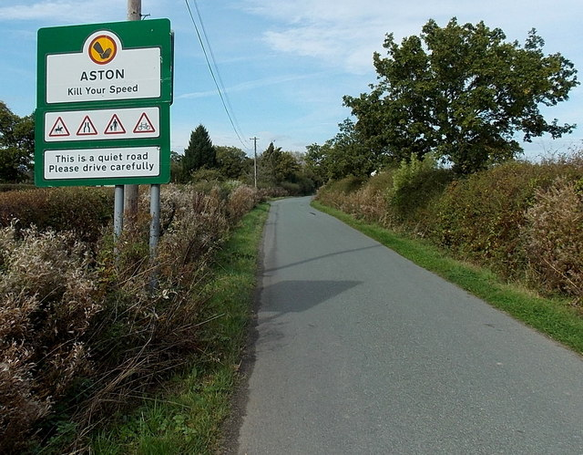 Kill your speed in Aston