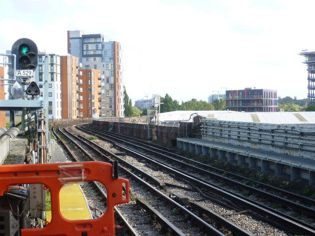 View from Alperton station