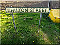 TL7546 : Chilton Street sign by Adrian Cable