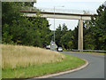 SP0266 : Westbound slip road to the A448 Bromsgrove Highway near Headless Cross, Redditch by Robin Stott