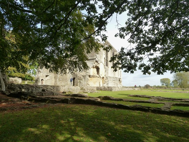 Minster Lovell - Old Hall - West Wing remnants