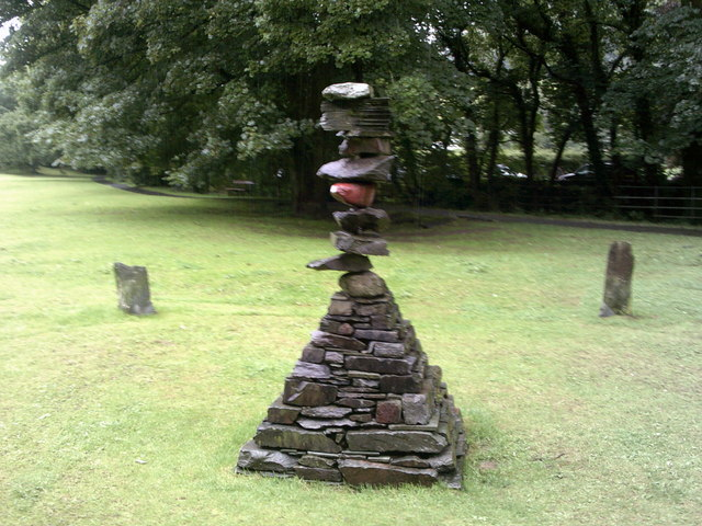 Turning Point Sculpture, Rothay Park, Ambleside
