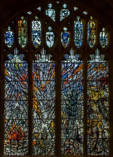 Millennium Window (west), Great Malvern Priory