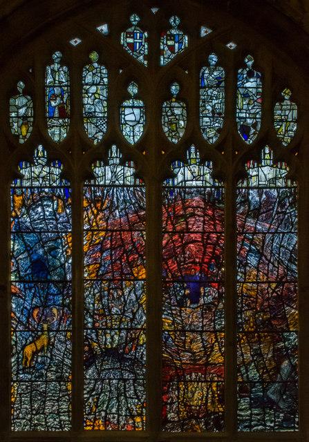 Millennium Window (east), Great Malvern Priory