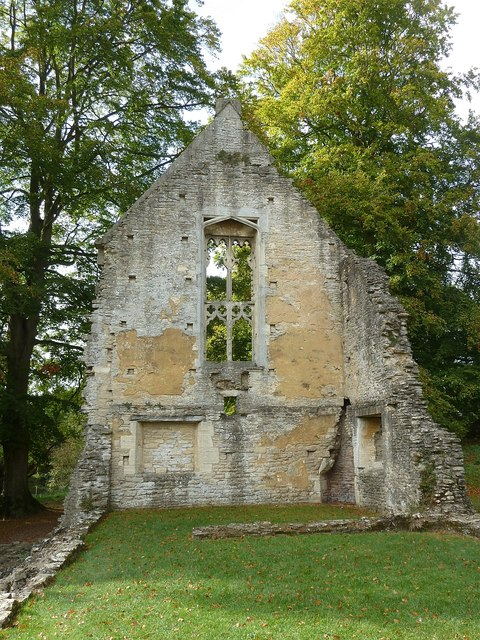 Minster Lovell - Old Hall - Northwest Building ruins