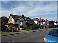 SP0366 : Houses, south side of Birchfield Road, Headless Cross, Redditch by Robin Stott