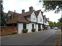 SU8283 : Ye Olde Bell Pub, Hurley by Bikeboy