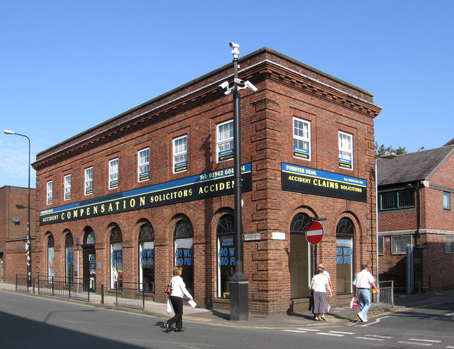 Leigh - solicitor offices on Lord Street