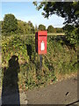 TL7646 : Snow Hill Poslingford Corner Postbox by Adrian Cable