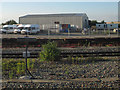 SP5076 : Network Rail depot west of Rugby station by Stephen Craven