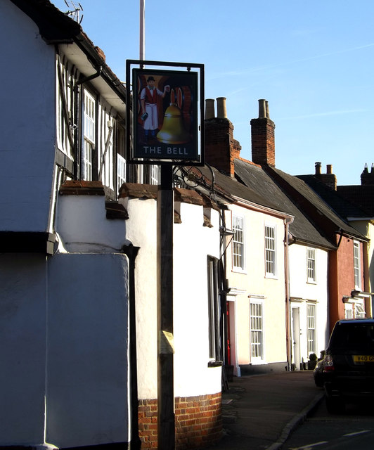 The Bell Public House sign