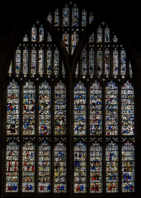 The Great East Window, Great Malvern Priory
