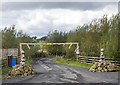 NT1093 : Entrance to holiday park by William Starkey