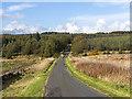 NT1094 : Minor road near Lochornie by William Starkey