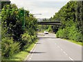 SP2862 : Minor Road Bridge over the M40 Link Road (A452) by David Dixon