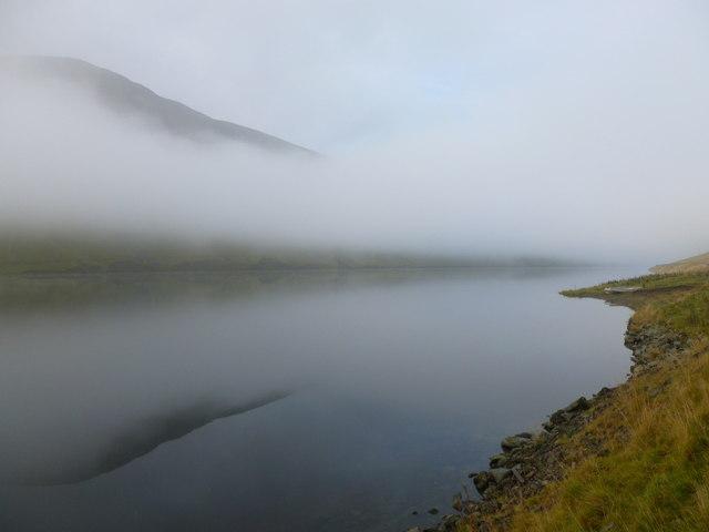 Mist over Talla Reservoir