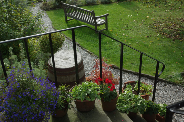 Wordsworth House garden