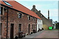 NU2329 : Town Farm Cottages, Beadnell by Chris Heaton