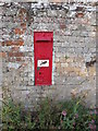 TL8957 : Ixer Lane Victorian Postbox by Adrian Cable