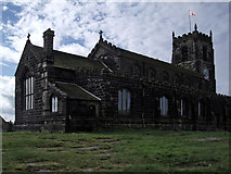SJ9995 : St Michael and All Angels Church, Mottram by Stephen Burton