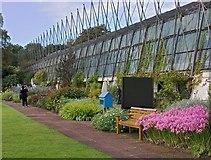 NT2475 : Glasshouses, Edinburgh Botanic Garden by Paul Harrop