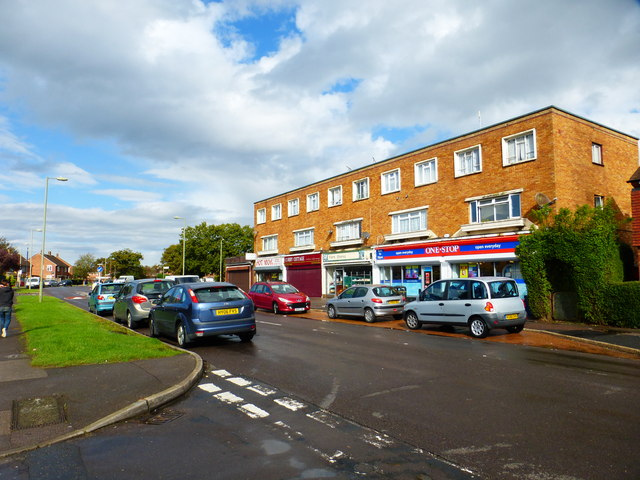Parade of shops on Botley Drive