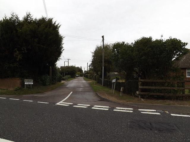 Wicks Lane, Forward Green