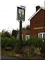 TM0959 : Shepherd & Dog Public House sign by Adrian Cable