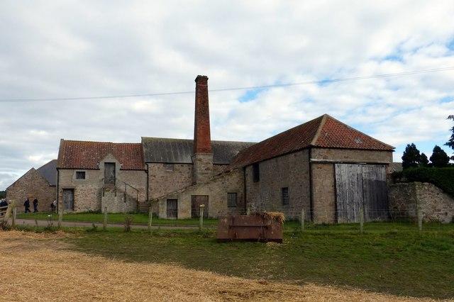 Hay Farm Engine House and chimney