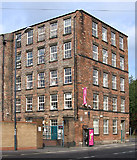 SK3436 : Derby - Banks Mill - from south by Dave Bevis