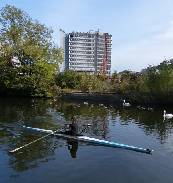 Rowing on the Grand Union Canal