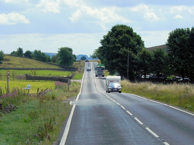 A623 passing Torr Farm