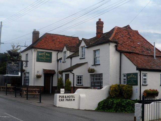 The Black Bull pub, Fyfield