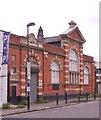 TQ3186 : Edwardian postal sorting office, Goodwin Street by Julian Osley