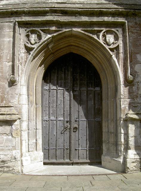 West Tower door