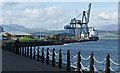 NS2876 : Greenock Ocean Terminal by Thomas Nugent