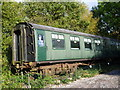 TQ4644 : Old railway carriage at Hever station by Marathon