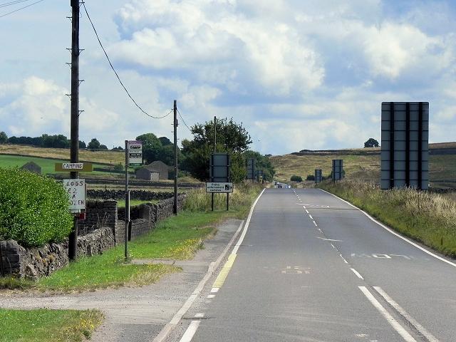 A623, Wardlow Mires