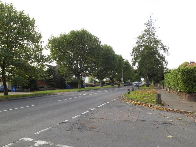 B1108 Earlham Road, Earlham