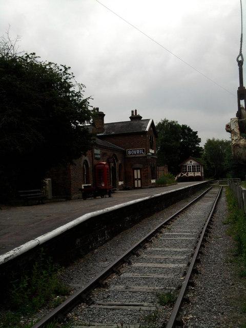 Hadlow Road Railway Station
