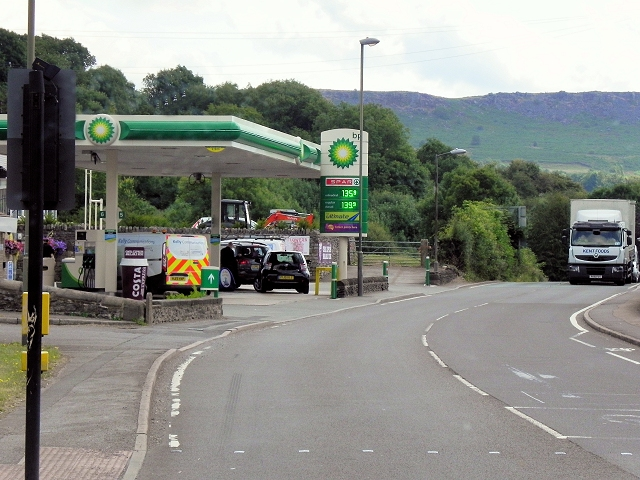BP Petrol Station, Kingsgate, Calver