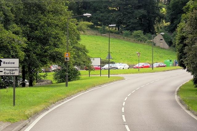 Baslow Road (A623), Calver Bridge