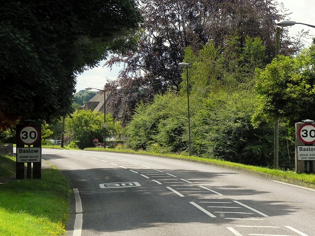 A623, Calver Road, Baslow