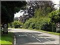 SK2472 : A623, Calver Road, Baslow by David Dixon