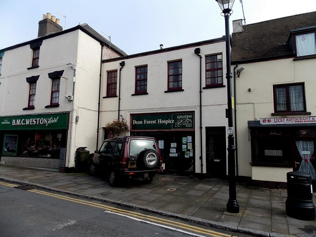 Dean Forest Hospice charity shop in Coleford