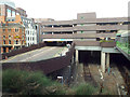 SP0687 : Livery Street multistorey car park over Snow Hill Station, Birmingham by Robin Stott