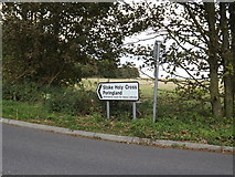 TG2202 : Roadsigns on Stoke Road by Adrian Cable