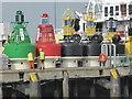 TM2532 : Big buoys - Harwich by Chris Allen