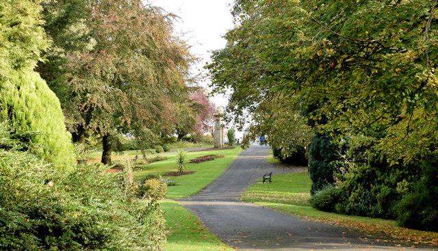Path, Musgrave Park, Belfast (October 2014)