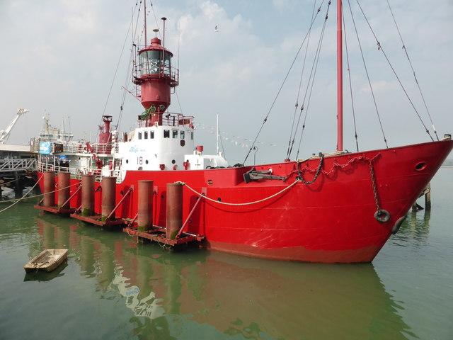 Harwich - light ship